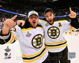 Brad Marchand & Patrice Bergeron Game 7 of the 2011 NHL Stanley Cup Finals(57) Photo