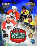 2010 NHL Winter Classic Matchup Photo