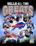 Buffalo Bills All Time Greats Composite Photo