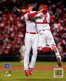 Adam Wainwright And Yadier Molina Photo