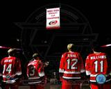 2006 - 2007 Hurricanes Stanley Cup Banner Raising Photo