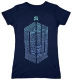Women's: Doctor Who - Logo Of Words Vêtement