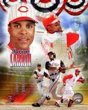 Barry Larkin 2012 MLB Hall of Fame Legends Composite Photo