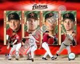 "2005 Astros ""BIG 4"" / PITCHERS Photo"
