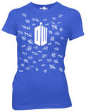 Juniors: Doctor Who - Tally Marks T-Shirt