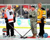 Bobby Orr & Bobby Clarke 2010 Winter Classic Photo