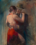Passion II Giclée-Druck von Michael Alford