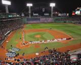 2004 World Series Opening Game - Nat'l anthem, Fenway Park, Boston Photo
