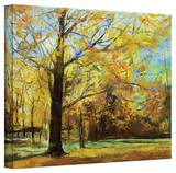 Michael Creese Shades of Autumn Gallery-Wrapped Canvas Stretched Canvas Print by Michael Creese