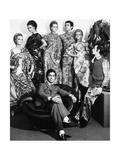 Valentino in His Atelier Premium fotografisk trykk av Marisa Rastellini