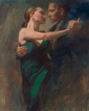 Tango Eins Giclée-Druck von Michael Alford