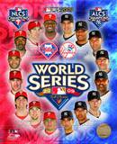 2009 MLB World Series Match Up Philadelphia Phillies Vs. New York Yankees Photo