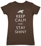 Juniors: Firefly - Keep Calm and Stay Shiny T-shirts