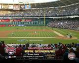4/14/05 - Inaugural Game RFK Stadium 1st Pitch Photo
