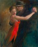 Tango II Giclée-Druck von Michael Alford