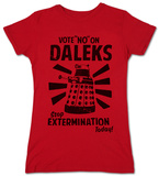 Juniors: Doctor Who - Vote No On Daleks T-shirts