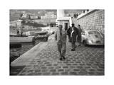 The Greek Bilionnaire Shipowner Aristotle Onassis Premium Photographic Print by Carlo Bavagnoli