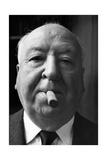 Hitchcock and His Cigar, Helsinki 1968 Reproduction photographique sur papier de qualité par Mario de Biasi