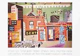 New York Under Gaslight Collectable Print by Stuart Davis