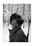 Siberian Hunter, 1972 Reproduction photographique sur papier de qualité par Mario de Biasi