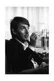 Fabrizio De André Smoking Reproduction photographique sur papier de qualité par Walter Mori
