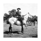 A Gaucho on Horseback Premium Photographic Print by Walter Mori
