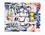 RefletsII Reproductions pour les collectionneurs par Roy Lichtenstein