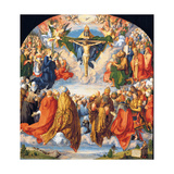 The Adoration of the Holy Trinity (the Landauer Altarpiece) Giclee Print by Albrecht Dürer