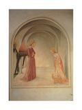 The Annunciation (panel) Lámina giclée por Beato Angelico