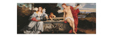 Sacred and Profane Love Reproduction procédé giclée par  Titian (Tiziano Vecelli)
