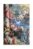 The Mystic Marriage of St Catherine Giclee Print by  Veronese