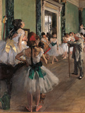The Dance Class Giclee Print by Edgar Degas