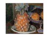 Still Life: Fruit and Pineapple Giclee Print by Fabbri Paolo Egisto