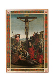 Standard (Crucifixion and the Descent of the Holy Spirit Or the Pentecost) Giclee Print by Luca Signorelli