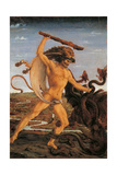 Hercules and the Hydra Giclee Print by  il Pollaiolo