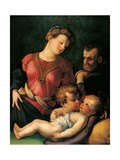 The Holy Family with Young St John the Baptist Reproduction procédé giclée par Unknown Artist