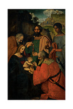 The Adoration of the Magi Giclee Print by Marco D'oggiono