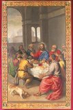 The Last Supper Giclee Print by  Titian (Tiziano Vecelli)
