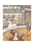 The Circus Lámina giclée por Seurat, Georges