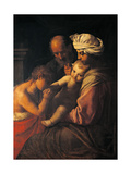 Holy Family with St John Giclee Print by  il Pesarese