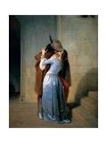 The Kiss Giclee Print by Hayez Francesco