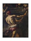 The Plague in Venice Giclée-tryk af Antonio Zanchi
