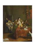The Concert Giclee Print by Pietro Longhi