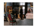 The Artists Studio Giclee Print by Frederic Bazille