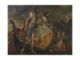The Miraculous Rescue Giclee Print by Girolamo Forabosco