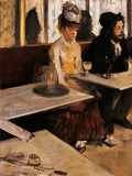 The Absinthe Absinthe Drinker Giclee Print by Edgar Degas