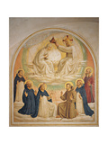 The Coronation of the Virgin Giclee Print by Beato Angelico