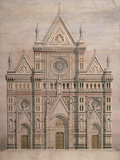 Dome Giclee Print by De Fabris Emilio