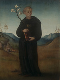 St. Nicholas of Tolentino Giclee Print by Francesco Ubertini (Bachiacca)