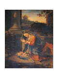 Madonna Adoring the Child Giclee Print by  Correggio